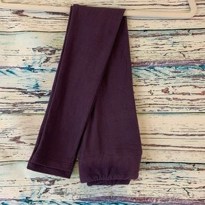 NEW Lularoe Purple Solid Color Leggings Kid's L/XL